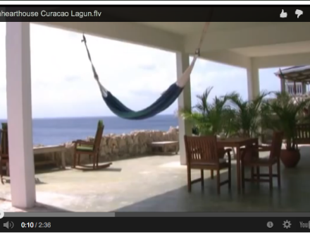 Dolphin Heart House Lagun Curacao you tube video