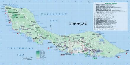 Curacao waar is het te vinden
