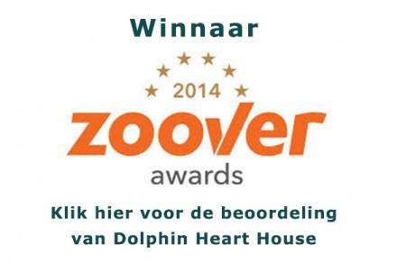 Zoover Award Dolphin Heart House